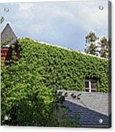 A Green House Acrylic Print