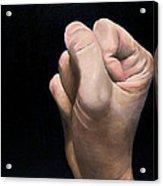 A Hand Study Acrylic Print