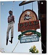 A Hanged Man In Jamestown Acrylic Print by RicardMN Photography