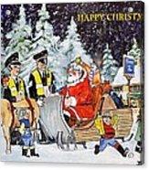 A Happy Christmas Acrylic Print