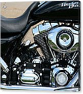 A Harley In Arlington Acrylic Print