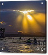 A Heavenly Display Acrylic Print
