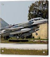 A Hellenic Air Force F-16d Block 52+ Acrylic Print