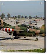 A Hellenic Air Force T-2 Buckeye Acrylic Print