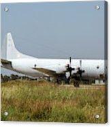 A Hellenic Navy P-3 Orion Aew Aircraft Acrylic Print