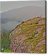 A High Point On Signal Hill National Historic Site In Saint John's-nl Acrylic Print