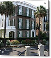 A Historic Home On The Battery - Charleston Acrylic Print