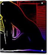 A Hot Night Acrylic Print by Steve K