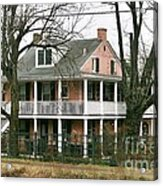A House Is A Home Is For The Birds In New Hope Pa Acrylic Print
