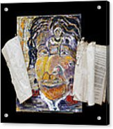 A Jewel Acrylic Print by Peggy  Blood