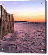 A Jones Beach Morning Acrylic Print