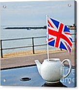 A Jubilee Cuppa Acrylic Print
