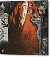 A Judge In Full Garments, Illustration Acrylic Print