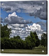 A July Cold Front Rolling By Acrylic Print
