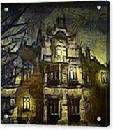 a la van Gogh Acrylic Print