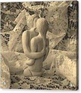 A Lace Kiss Acrylic Print