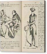 A Lady And Gentleman Acrylic Print