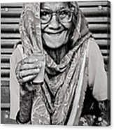 A Lady And Her Chai IIi Acrylic Print