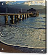 A Land Called Hanalei Acrylic Print