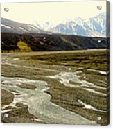 A Land Of Mountains Rivers And Valleys Acrylic Print