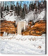 A Land Of Snow And Ice Acrylic Print