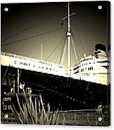 A Large Old Ship Acrylic Print