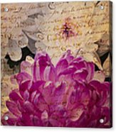 A Letter To The Mums Acrylic Print