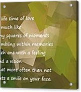 A Life Time Of Love Acrylic Print