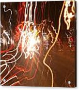 A Light Dance In Old Town Acrylic Print
