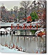 A Light Dusting Of Snow Acrylic Print