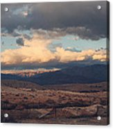 A Light In The Distance Acrylic Print