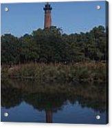 A Lighthouse Reflection Acrylic Print