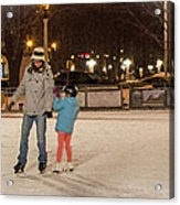 A Lil Help From Dad  Acrylic Print