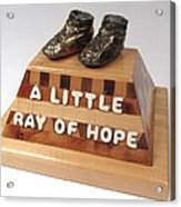 A Little Ray Of Hope  #115 Acrylic Print