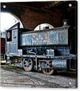 A Locomotive At The Colliery Acrylic Print