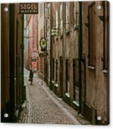 A Lonely Walk Home Acrylic Print