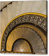 A Look Down The Stairs Acrylic Print