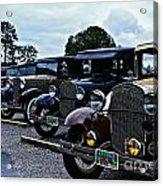 A Lot Of Classic Cars Acrylic Print