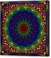 A Love Of Kaleidoscopes Acrylic Print