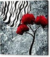 A Love Story No 23 Acrylic Print by Oddball Art Co by Lizzy Love