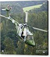 A Lynx Mk 7 Helicopter Acrylic Print