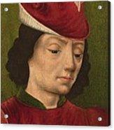 A Male Figure Perhaps Saint Sebastian A Acrylic Print