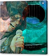A Man And His Music - James Brown Featured In 'abc Group' And Comfortable Art Group Acrylic Print