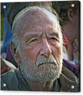 A Man Of Character Acrylic Print by Chris Anderson