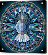 A Mandala Abstract Acrylic Print