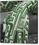 A Maze Ing Hand Acrylic Print