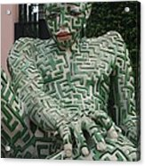 A Maze Ing Man 1 Acrylic Print