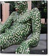A Maze Ing Man 5 Acrylic Print