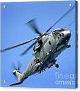 A Merlin Helicopter Acrylic Print