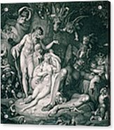 A Midsummer Nights Dream Acrylic Print by Henry Fuseli